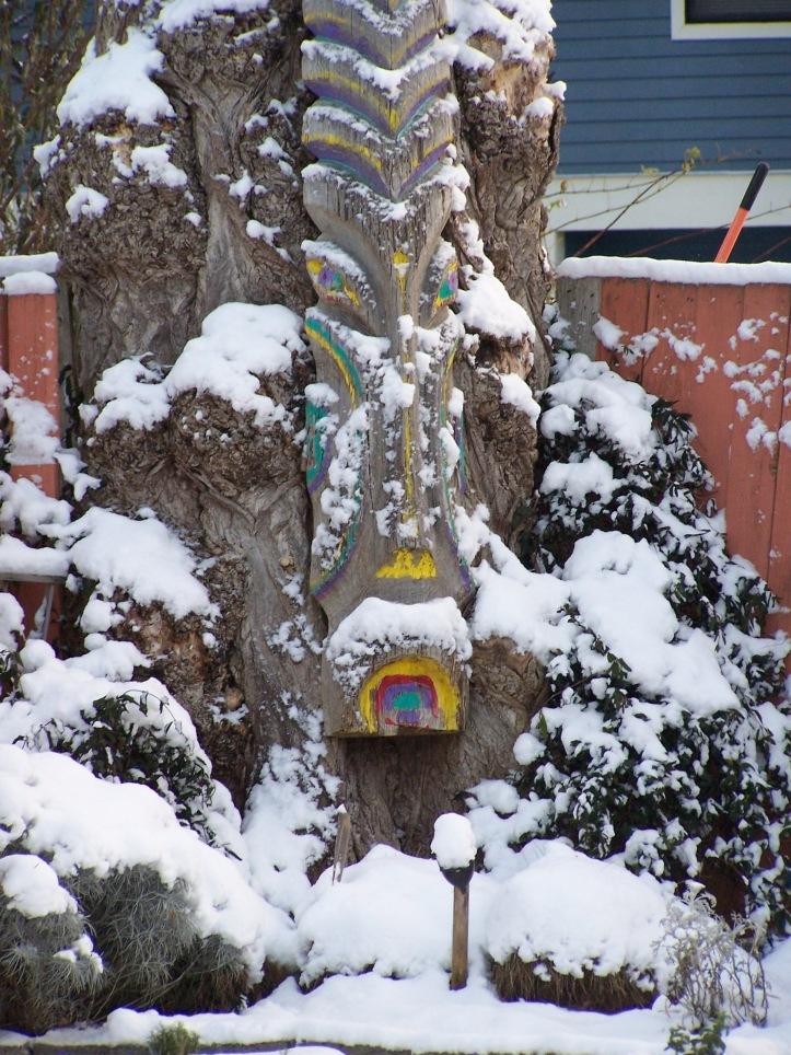 Tiki in Snow 2008