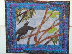 Baby Crow Quilt Finished