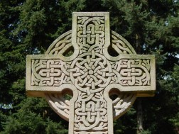 Celtic influence on the cross
