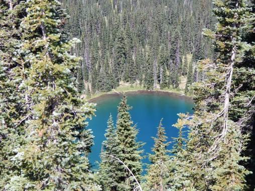 Sunrise Lake - deepest blue