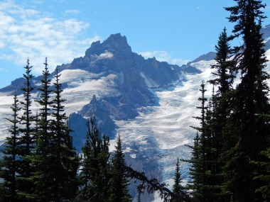Little Tahoma on Mt Rainier