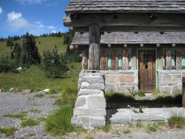 Mt Rainier Gas Station from a time gone by