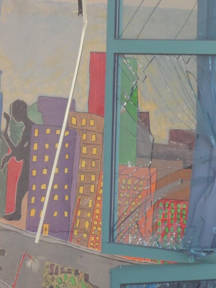 School art revealed in teardown