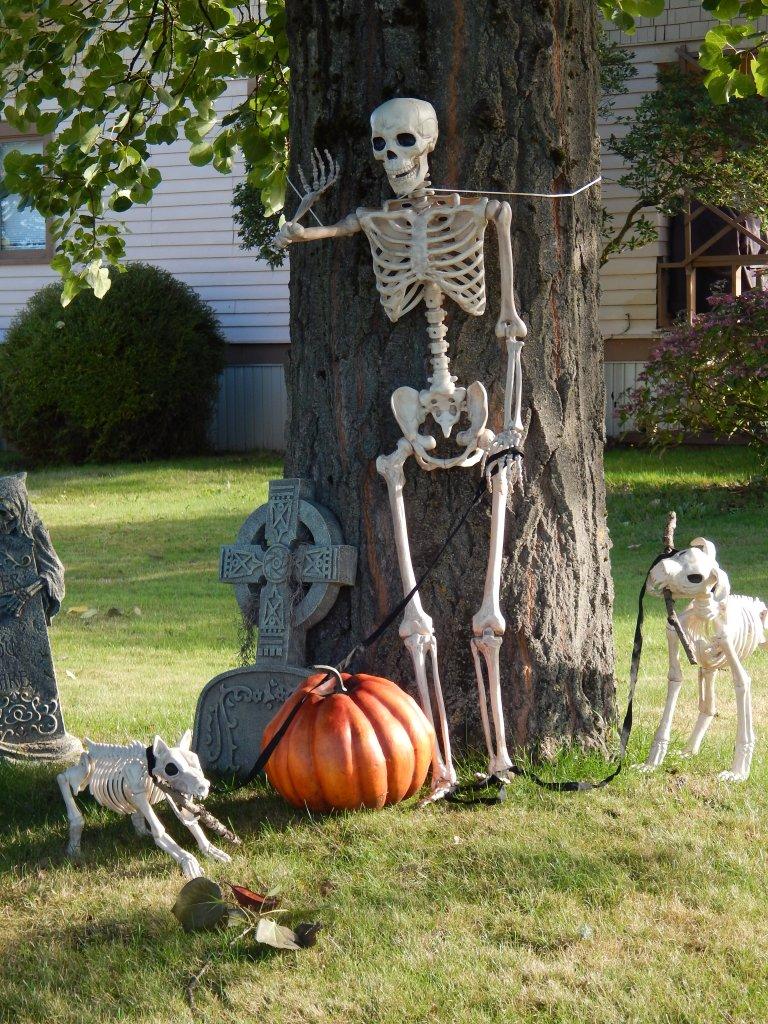 Halloween dog walker doomed