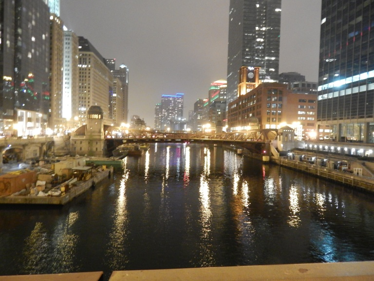 Chicago River - Clark Street Bridge