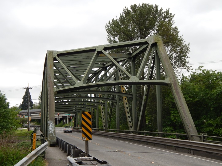 New Bridge down from old Riverton Bridge