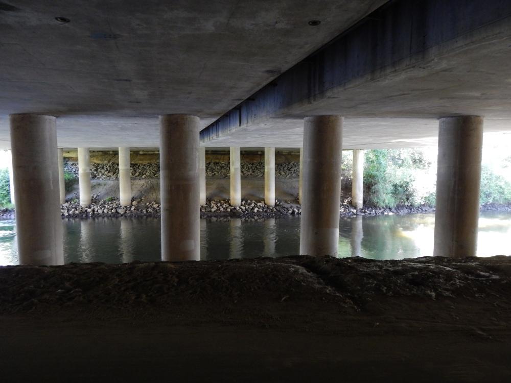 I-405 Bridge from down under