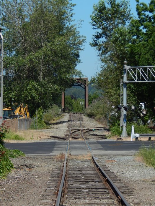 Old Railroad Bridge over Green River from Interurban trail