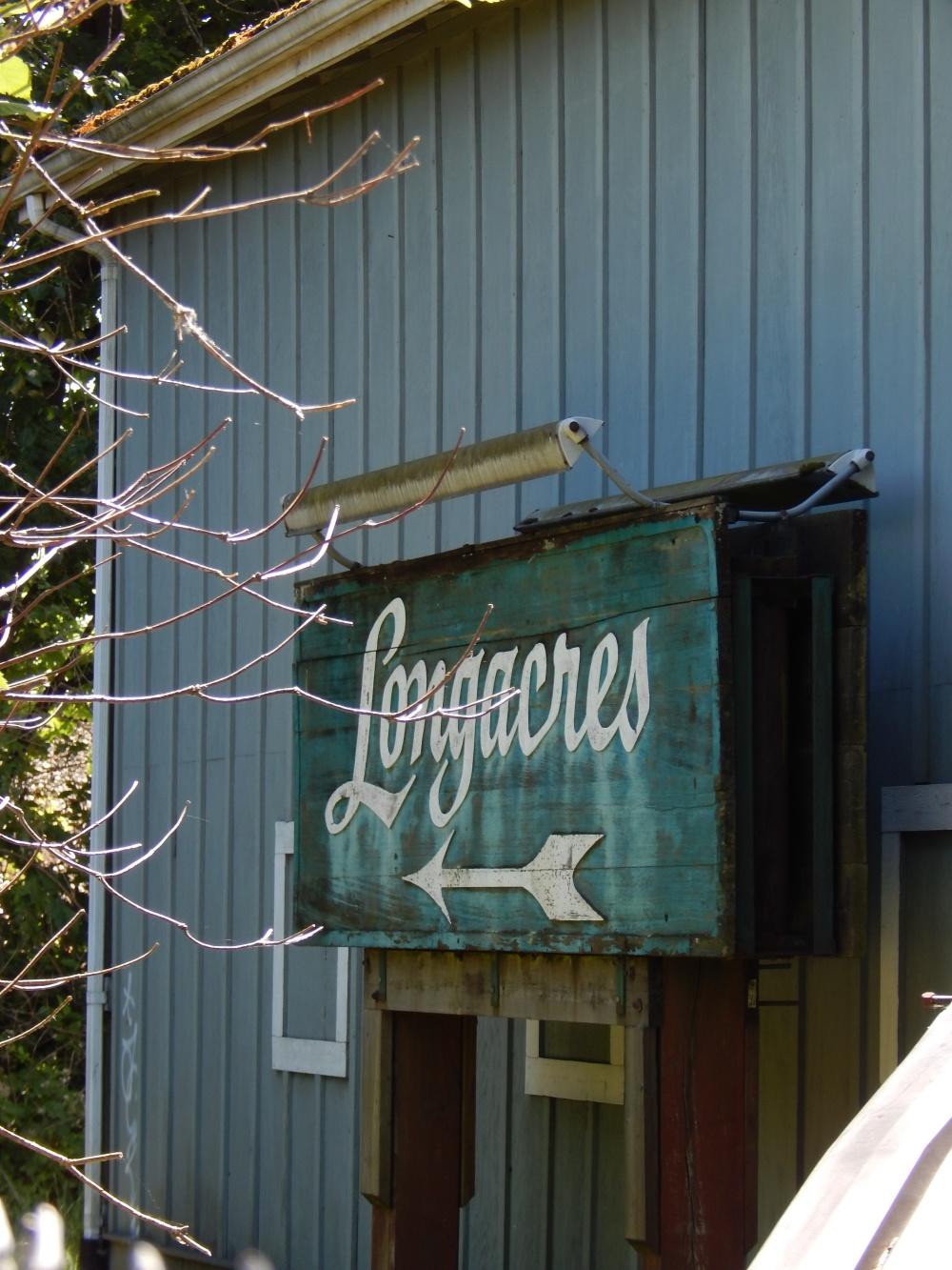 Longacres Sign lives on!