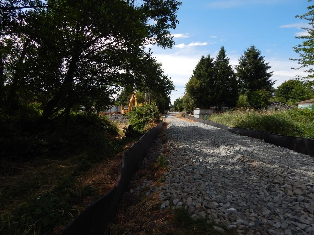 King Co WLRD pond being remodeled
