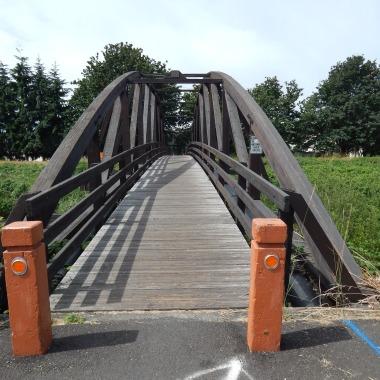Foot bridge over Green River at 180th.