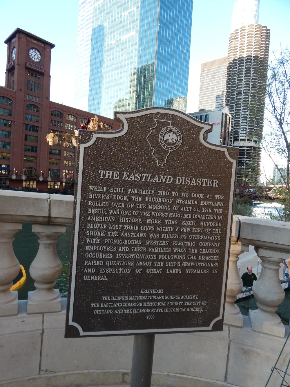 Eastland Memorial Marker