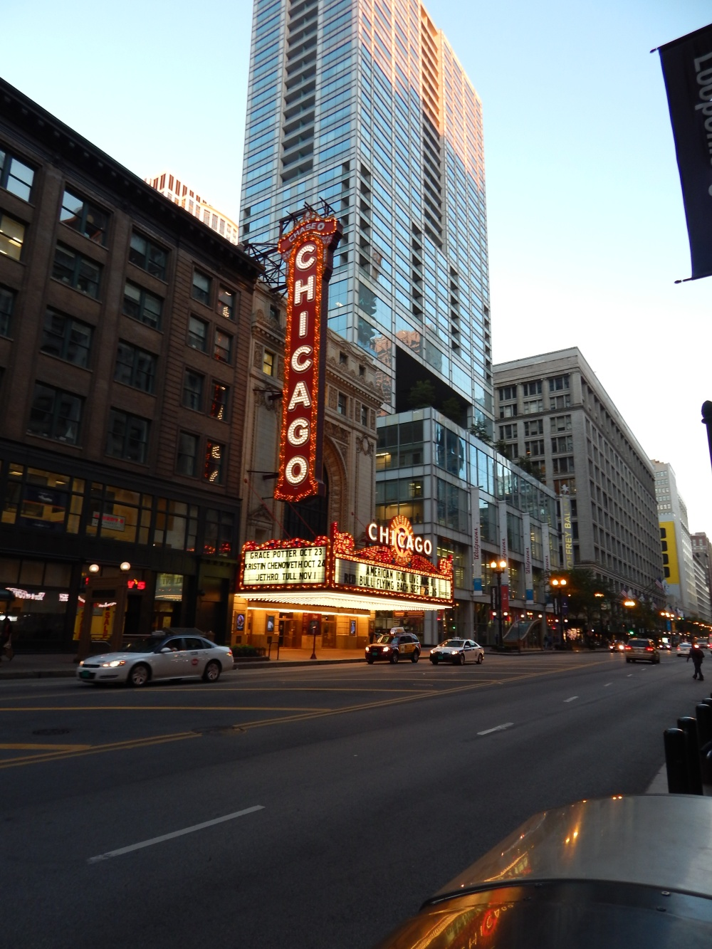 Chicago Theater view