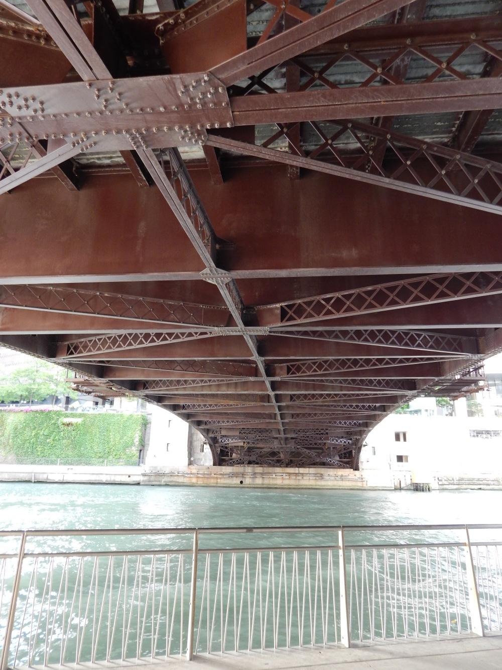 Under the bridge on River Walk