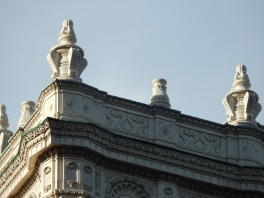 Embellishments on Wrigley Building