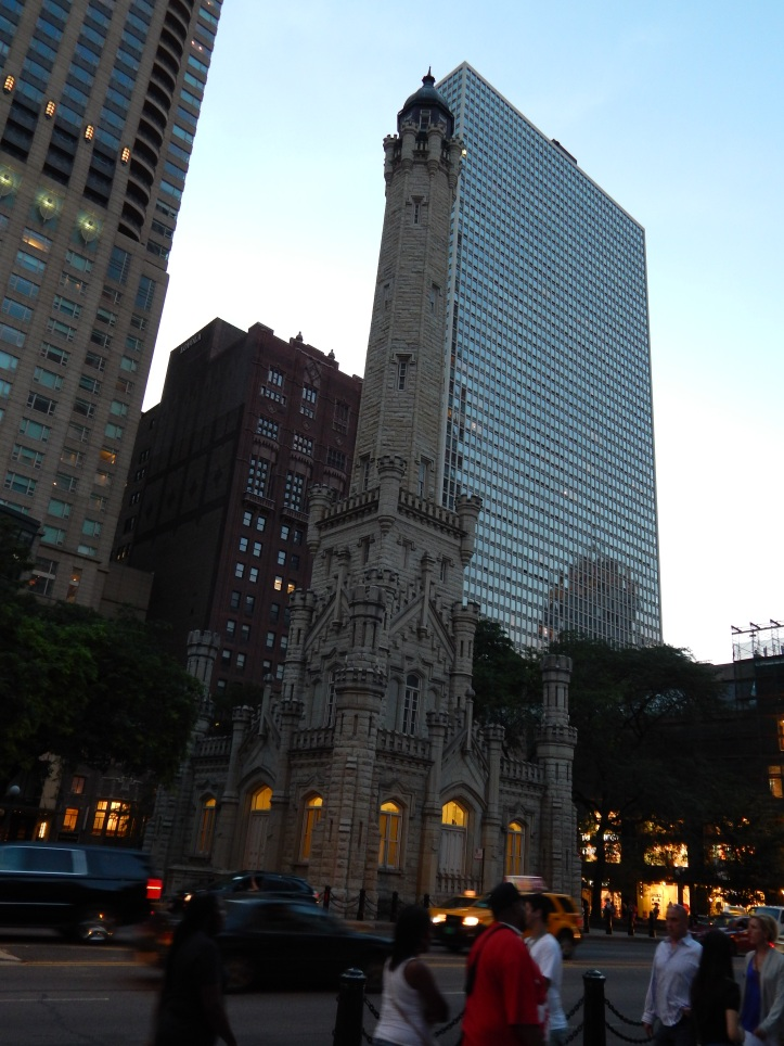 Old Water Tower survived the great Chicago Fire in 1871