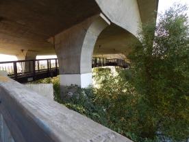 Bridge in a bridge under hwy 516.