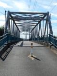Bridge looking south down Interurban Trail