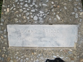 Downey Bridge - 1st into Kent 1904