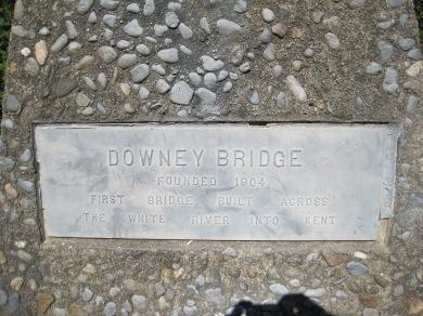 Downey Bridge - 1st into Kent 1904
