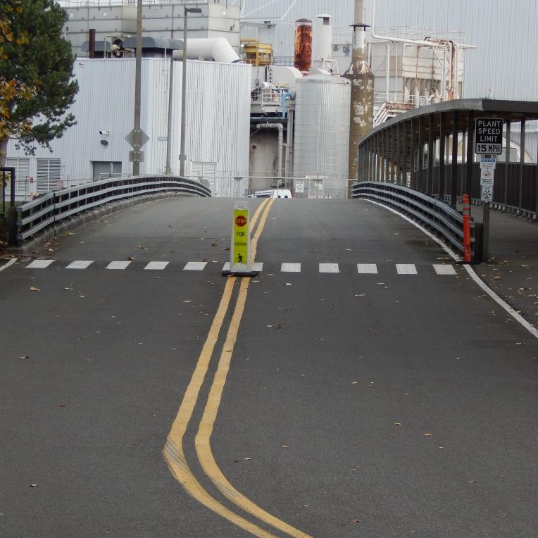 Bridge to Boeing Plant