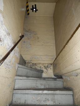 Stairs like seen at Alcatraz