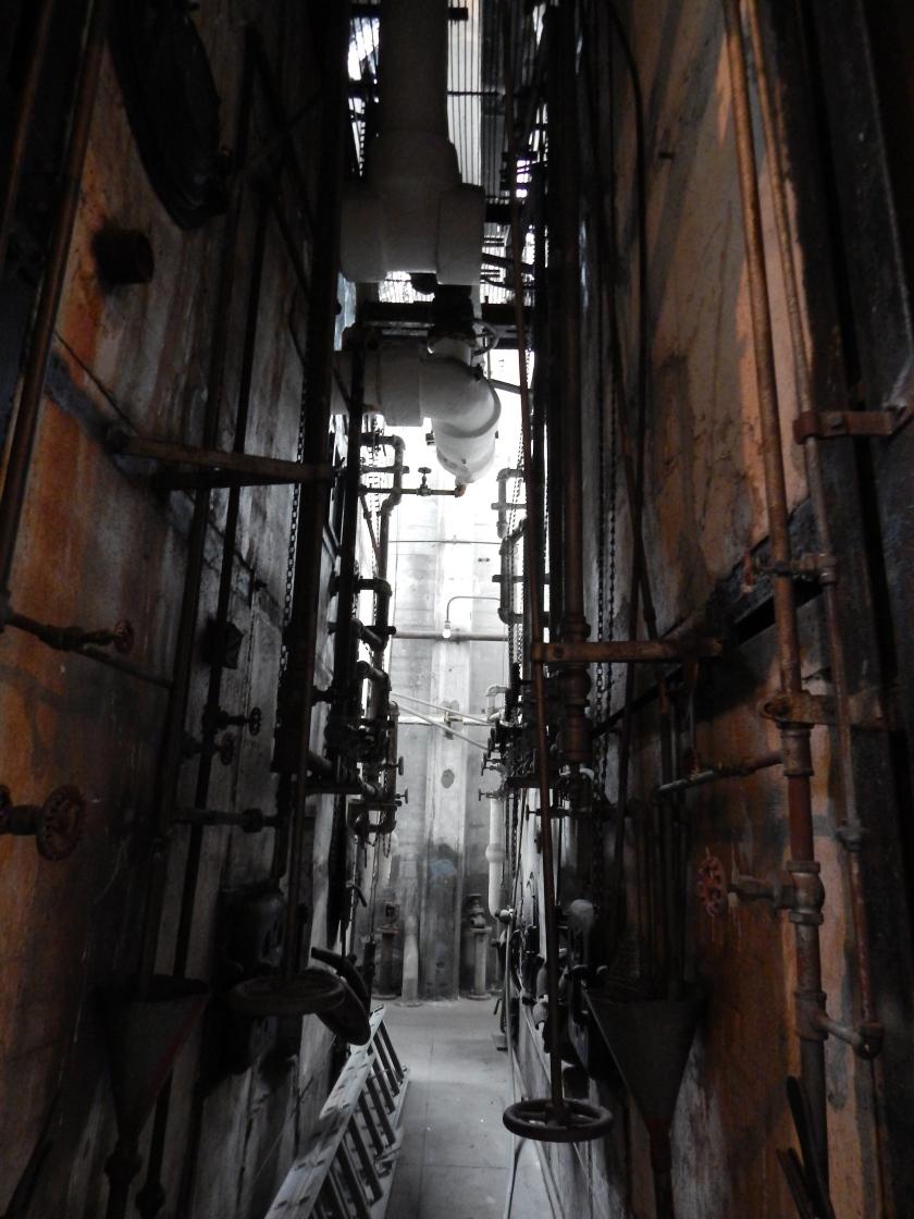 Creepy space between boilers