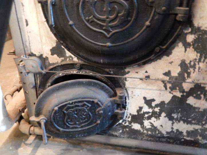 Boiler doors - no flash taken after creepy photo
