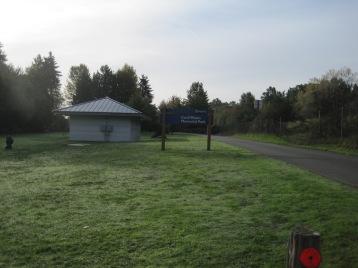 Cecil Moses Memorial Park - view South