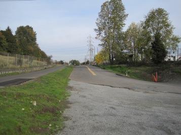 Cecil Moses Memorial Park - view North