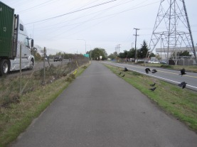 Crows and where someone wreaked on 599