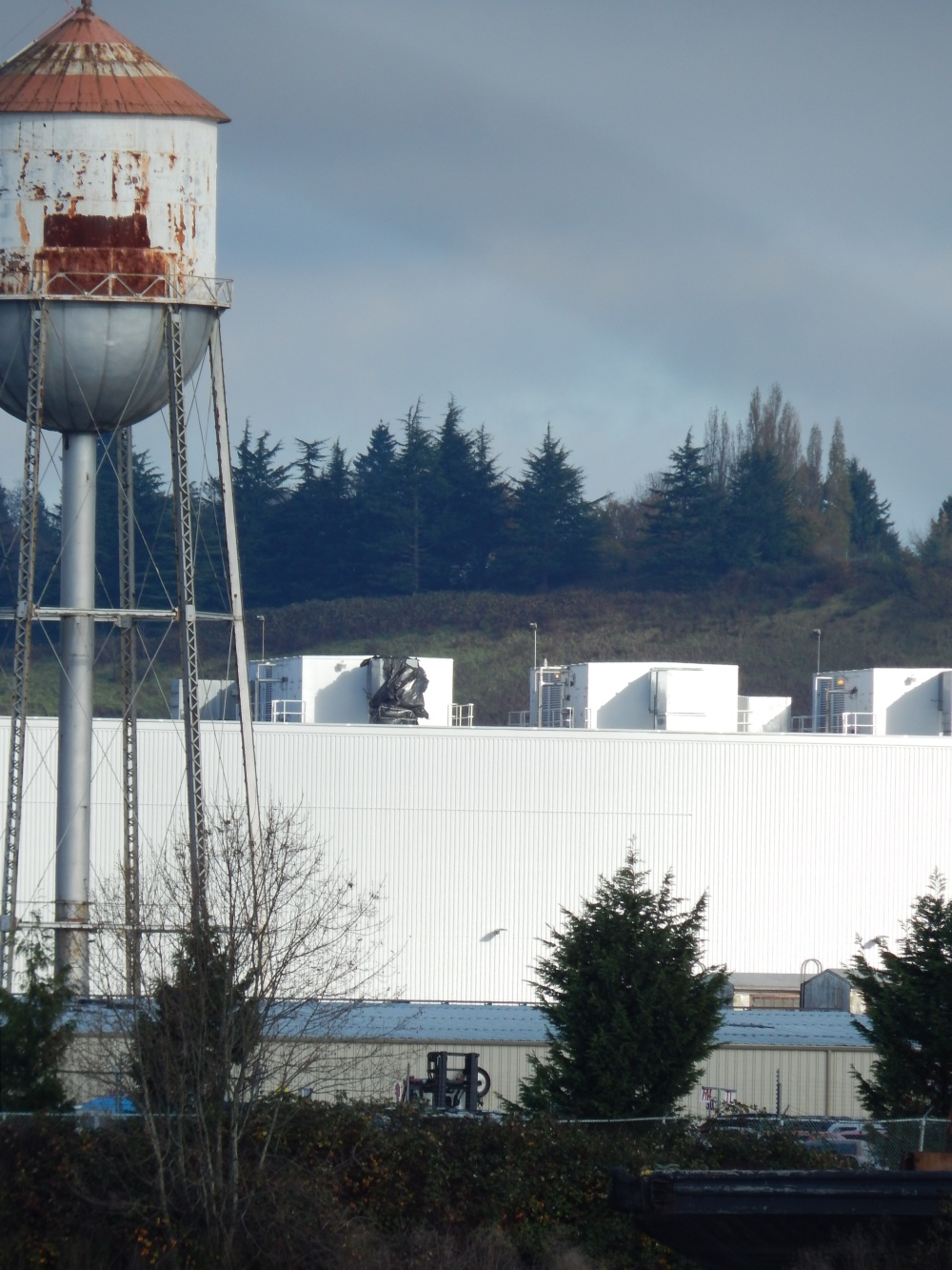 Old Water Tower - could this be from Kenworth Factory?