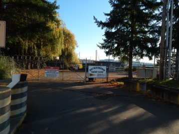 Duwamish Yacht Club entrance - locked tight