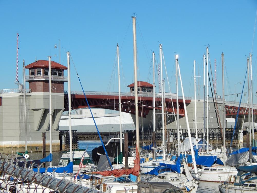 14th Ave So Bridge and Southpark Marina
