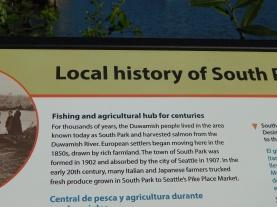 Southpark History Sign