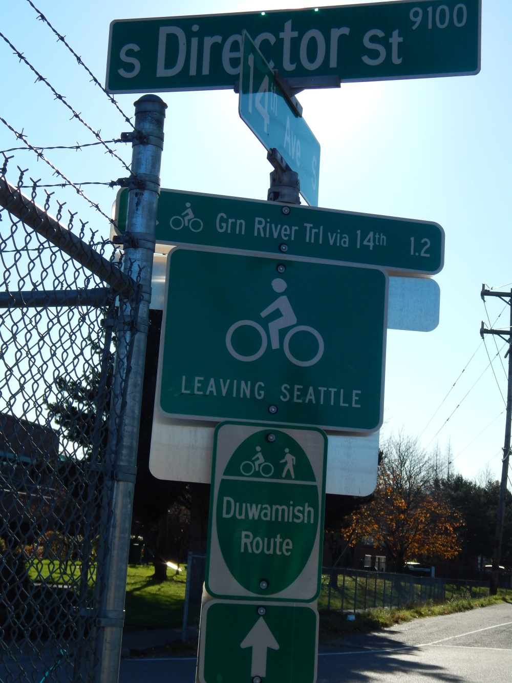 Green River Trail Sign