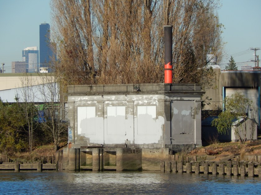 Pump Station for Georgetown Steam Plant - after course of Duwamish was changed