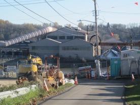 Southpark T-117 Park and Jorgensen Steel across Duwamish