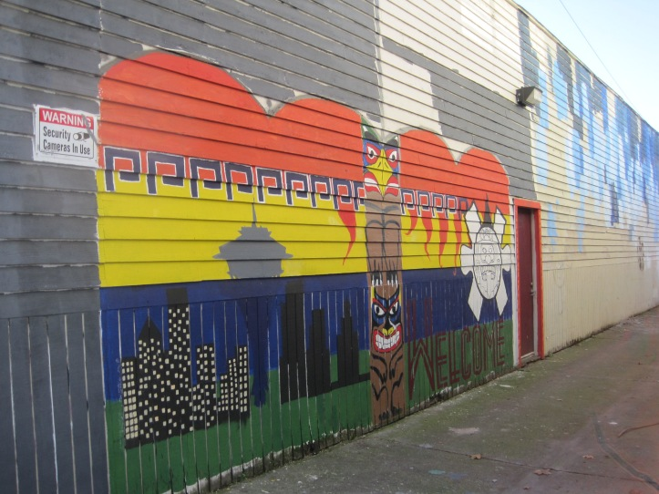 Southpark alley art