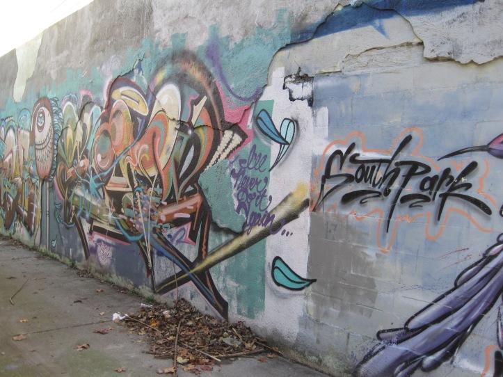 Southpark art or graffiti?