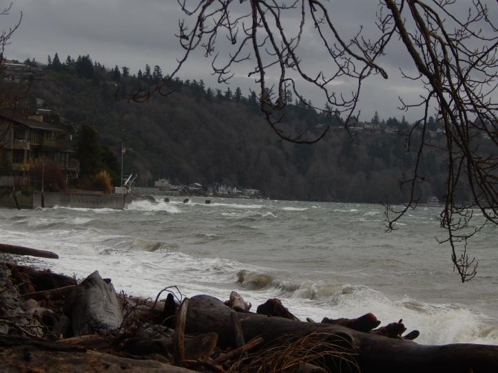 Ocean View Beach to Standring Ln landslide