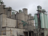 Cement Plant up close