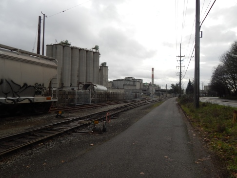 Duwamish Trail and Cement plant