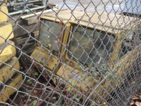 Rail cars retired