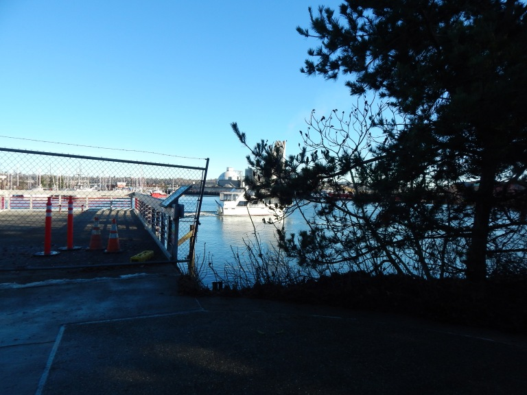 Pier at T-105 is closed due to unsafe structure