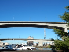 Two West Seattle Bridges - upper and lower