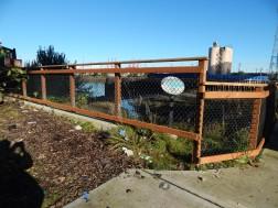 Reclaimed area under W Sea Bridge