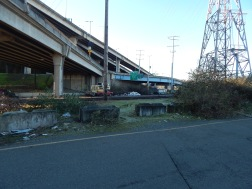 Trash under the bridge