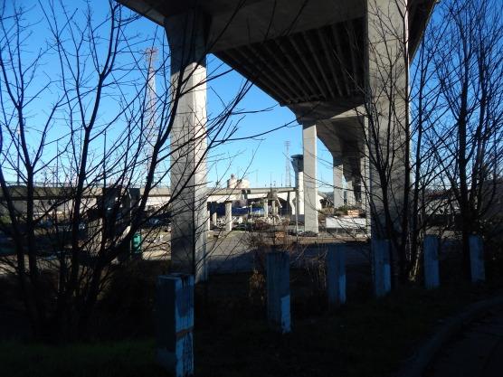 Deadend under West Seattle Bridge