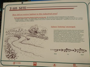 T-105 info sign #1